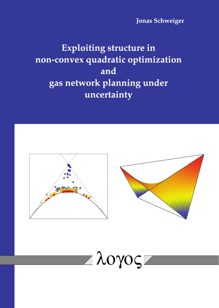 Exploiting structure in non-convex quadratic optimization and gas network planning under uncertainty