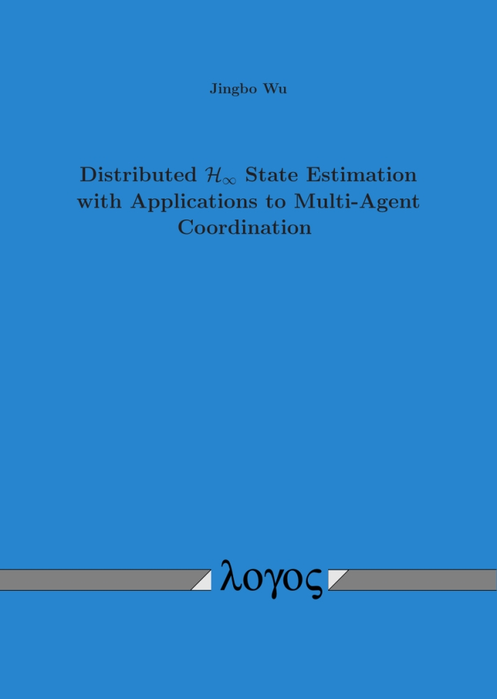 Distributed H-infinity State Estimation with Applications to Multi-Agent Coordination