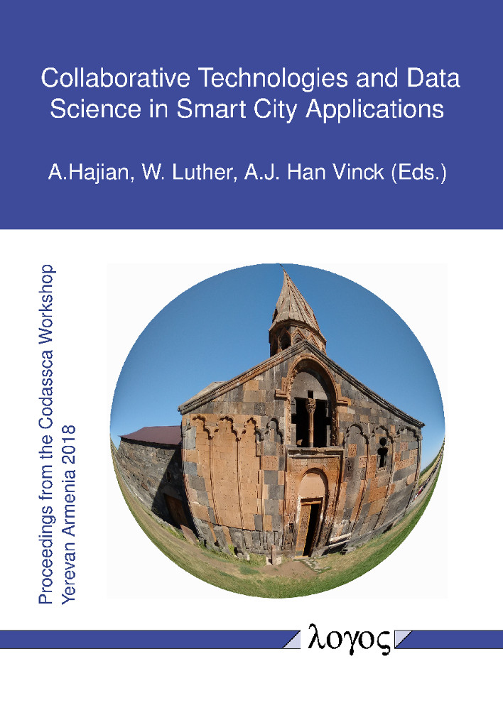 Wolfram Luther, A. J. Han Vinck, Aram Hajian(Hrsg.): Collaborative Technologies and Data Science in Smart City Applications
