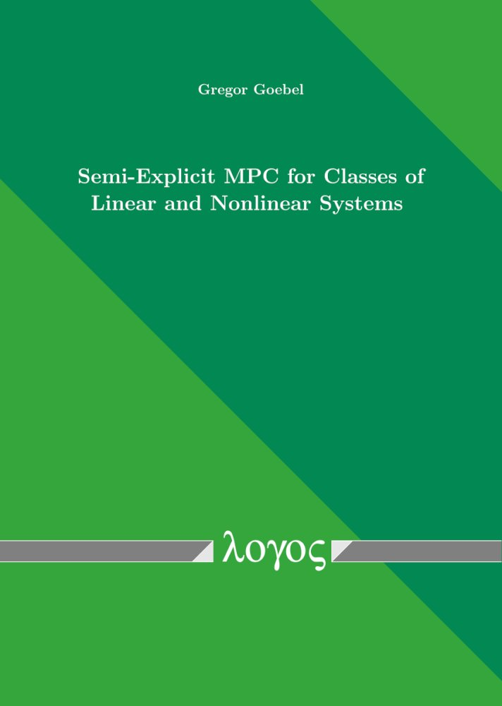 Semi-Explicit MPC for Classes of Linear and Nonlinear Systems