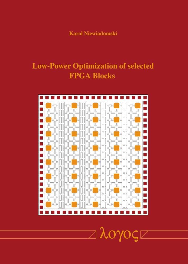 Low-Power Optimization of selected FPGA Blocks