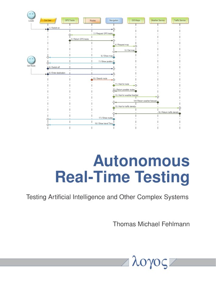 Autonomous Real-Time Testing. Testing Artificial Intelligence and Other Complex Systems