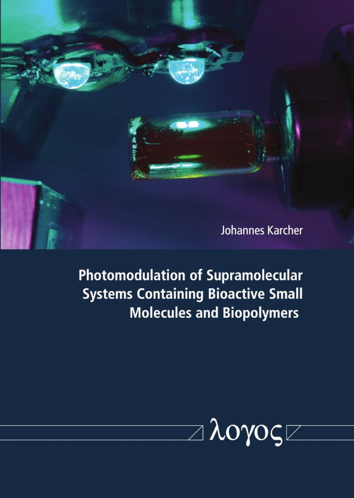 Photomodulation of Supramolecular Systems Containing Bioactive Small Molecules and Biopolymers