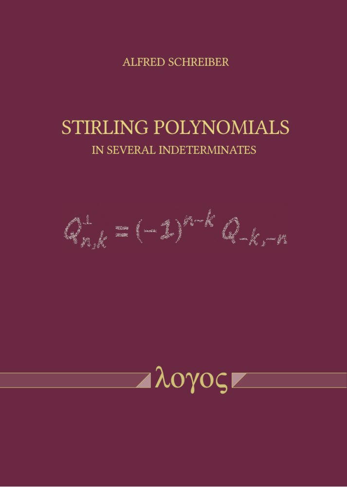 Alfred Schreiber: Stirling Polynomials in Several Indeterminates